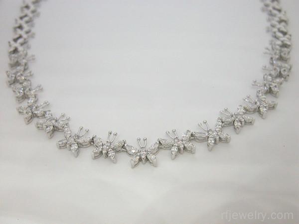 گردنبند جواهر مارکیز - کد 4756